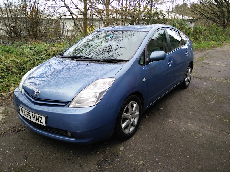 Used electric cars for sale used electric vans eco cars for Prius electric motor for sale